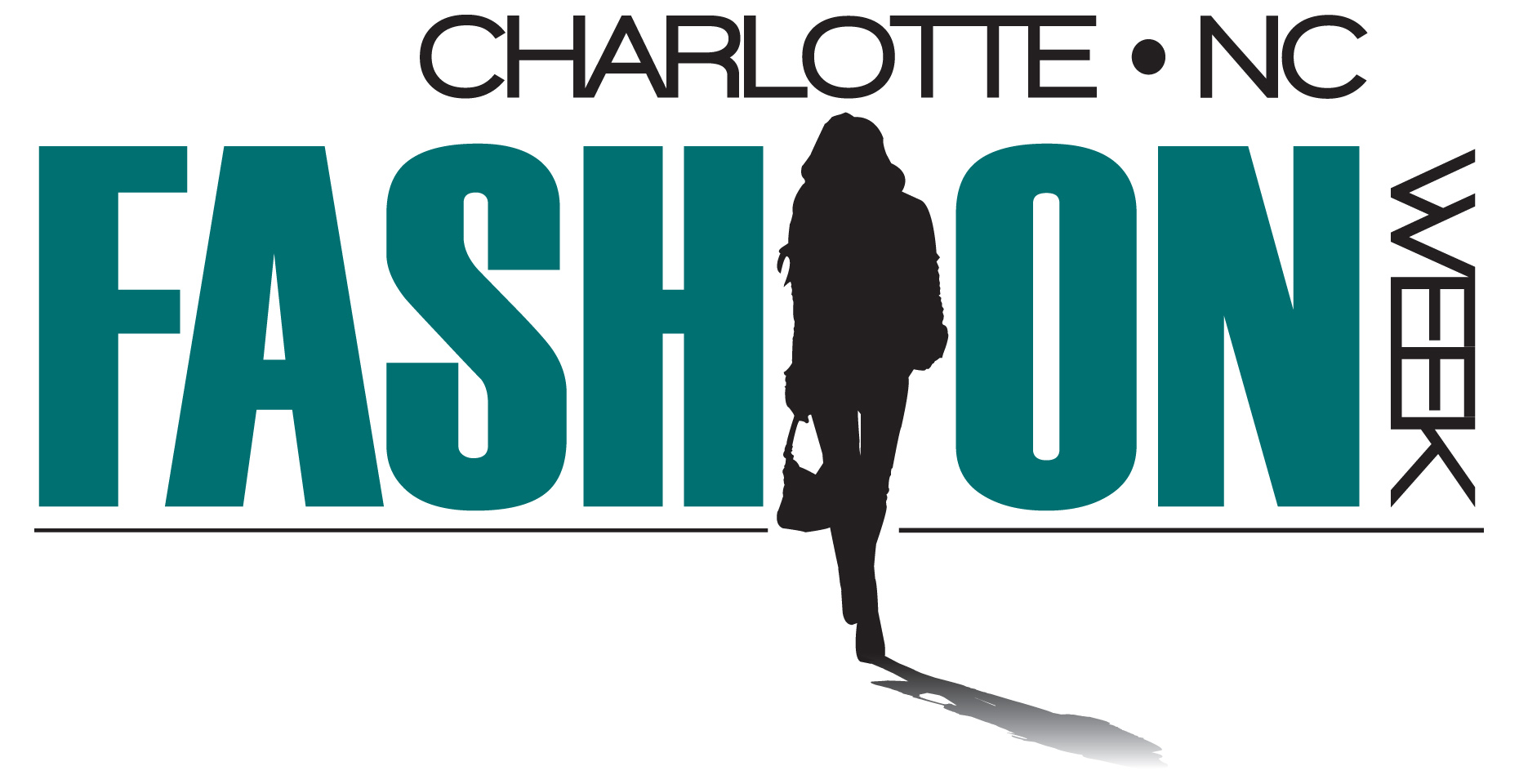Charlotte Fashion Week Logo Blue Cap Designs